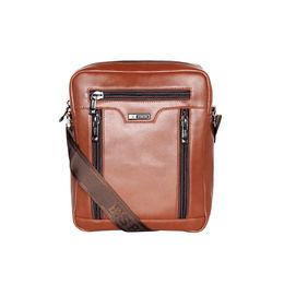 ESBEDA Solid Pattern Rodeo Crossbody Sling bag For Mens,  tan