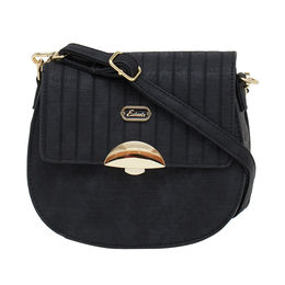 ESBEDA LADIES SLING BAG 18716-2,  black