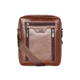 ESBEDA Solid Pattern Rodeo Crossbody Sling bag For Mens,  brown