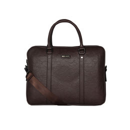 ESBEDA Solid Pattern Paperish Laptop Bag,  brown
