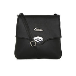 ESBEDA LADIES SLING BAG SA21082016,  black