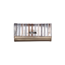 ESBEDA Printed Fusion wallet For Women,  metallic