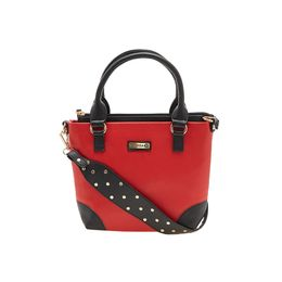 ESBEDA HANDBAG AS060717,  red-black
