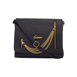 ESBEDA LADIES SLING BAG SM24122017,  black
