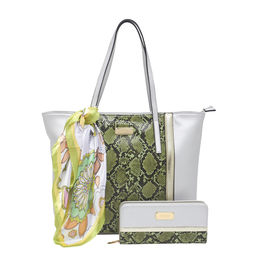ESBEDA Ladies Handbag G-164,  silver