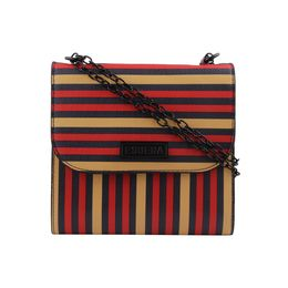 ESBEDA LADIES SLING BAG EB-001,  red & multi line