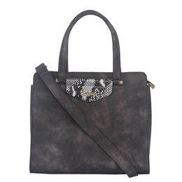 Ladies Handbag D1622,  winter grey