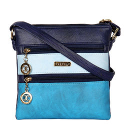 ESBEDA LADIES SLING BAG MA220916,  blue