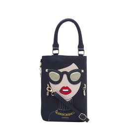ESBEDA LADIES SLING BAG 1008,  black