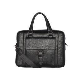 ESBEDA Solid pattern ESBEDA Grain Laptop Bag,  black