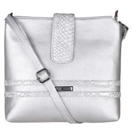 ESBEDA Solid Pattern Lucy Slingbag -1005457,  silver