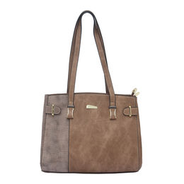 ESBEDA LADIES HANDBAG 18649,  coffee