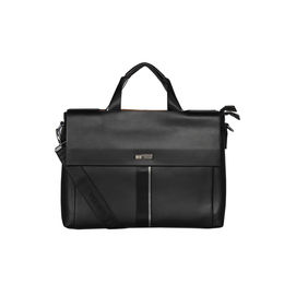 ESBEDA Double Sided Briefcase For Mens and Women,  black