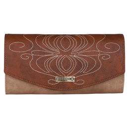 ESBEDA LADIES WALLET Z00100001-13,  tan
