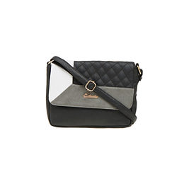 ESBEDA LADIES SLING BAG AZ10082017,  black-white-grey
