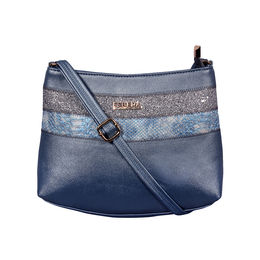ESBEDA Medium Size Chunky Glitter Slingbag For Womens-A00100042-40,  blue