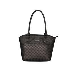 ESBEDA Glitter Emboss Hand bag For women,  black
