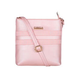 ESBEDA Medium Size Rayon Slingbag For Womens-A00100042-45,  pink