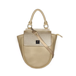 ESBEDA Cinhetic saddle Handbag For Women,  gold
