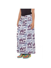 SML Originals Printed Skirt, xs, black