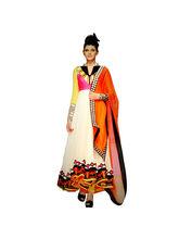 Bollywood Designer Casual Women Dress Material, multicolor