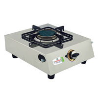 Sunshine Ceramic Single Burner Stainless Steel Gas Stove, lpg