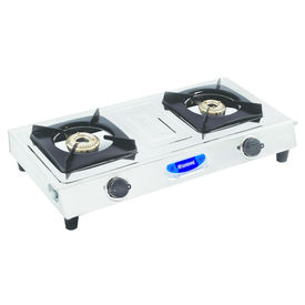 Sunshine Taper-2 Double Burner Stainless Steel Gas Stove