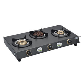 Sunshine Meethi Angeethi Three Burner T. Cook CTD Gas Stove