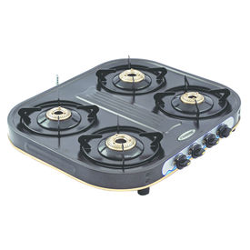 Sunshine Eco Dlx Four Burner Powder Coated Gas Stove