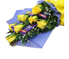 Primo Gifts Yellow And Chocolaty (PR17011)