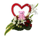 Primo Gifts Cute And Hearty Arrangement (PR17060)