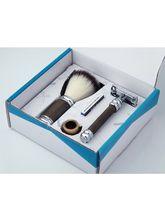 Pearl Men's/Boy's Shaving Razor & Brush Sets (SRS-11GB)