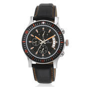 Maxima Attivo Black/Black Chronograph Watch