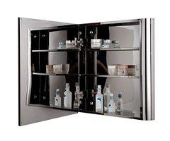 Cipla Plast Bamboo Stainless Steel Bathroom Cabinet+ Free 14 Pcs Multipurpose Buffers - BRC-707-SS