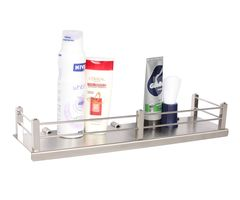 Regis Bathroom/Kitchen Stainless Steel Wall Shelf/Rack - Stella 375mm