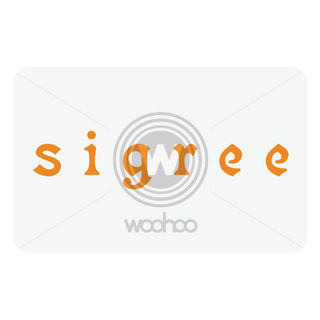 Sigree Restaurant Gift Cards, 1000