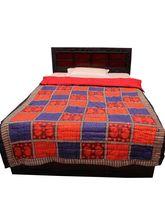 Halowishes Famous Bagru Print Cotton Single Bed Razai Quilt -204