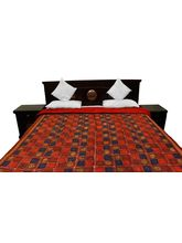 Halowishes Jaipuri Bagru Design Double Bed Razai - 106