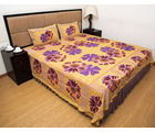 Halowishes Jaipuri Printed Cotton Double Bed Sheet
