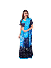 Halowishes Traditional Bandhej Pure Cotton Lehanga Choli Set