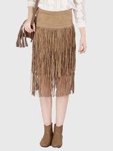 Skirt, xs, rust