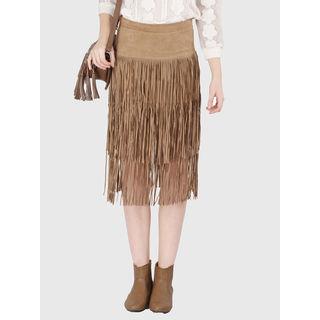 Skirt, xxs, rust