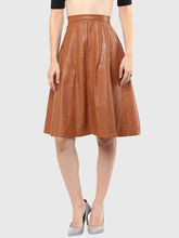 Skirt, xs, brown