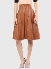 Skirt, xs, brown