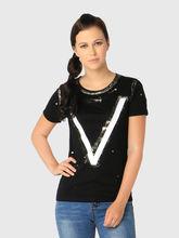 T-Shirt, xs, black
