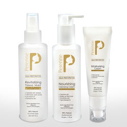 PERENNE NOURISHING CLEANSING CREAM 200 ML+ PERENNE REVITALIZING TONIC MIST 20ML+ PERENNE MOISTURISATION CREAM 50GM