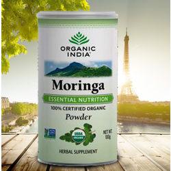 Organic India Moringa Powder, 100 gm