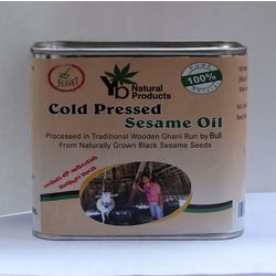 YB Natural Cold Pressed Sesame Oil 500M, 500 ml