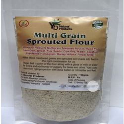 YB NATURALS MULTIGRAIN SPROUTED FLOUR, 500 gms