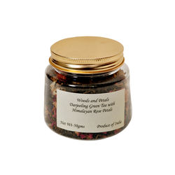 Wood and Petals Darjeeling Green tea with Rose Petals, 50 g